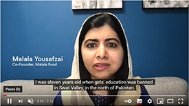 Malala Fund partners with Cochlear Foundation to remove hearing loss as a barrier to education